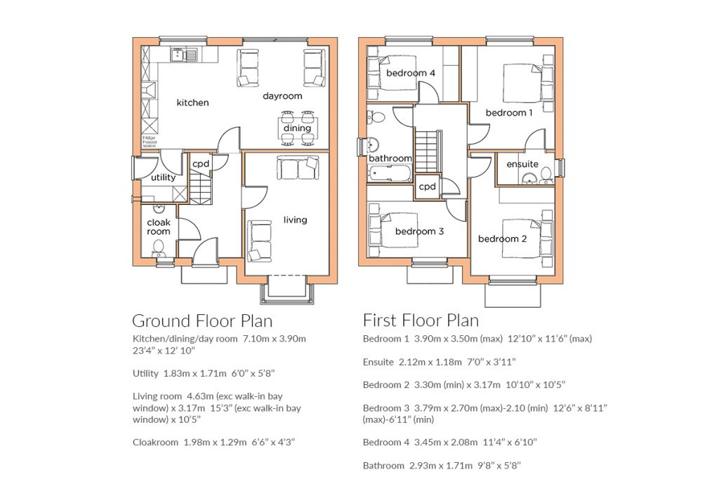 floor plan the apricot